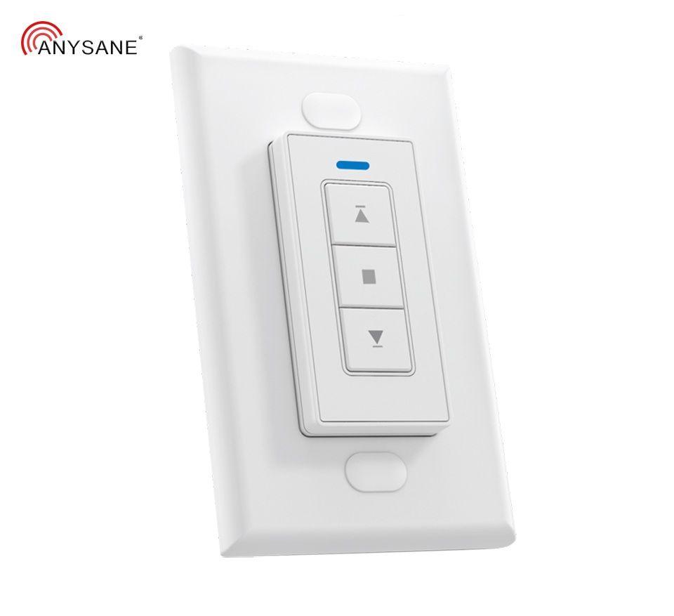 Commutateur universel de télécommande de porte de Garage 433.92mhz Rf stores à rideaux motorisés à distance domotique intelligente