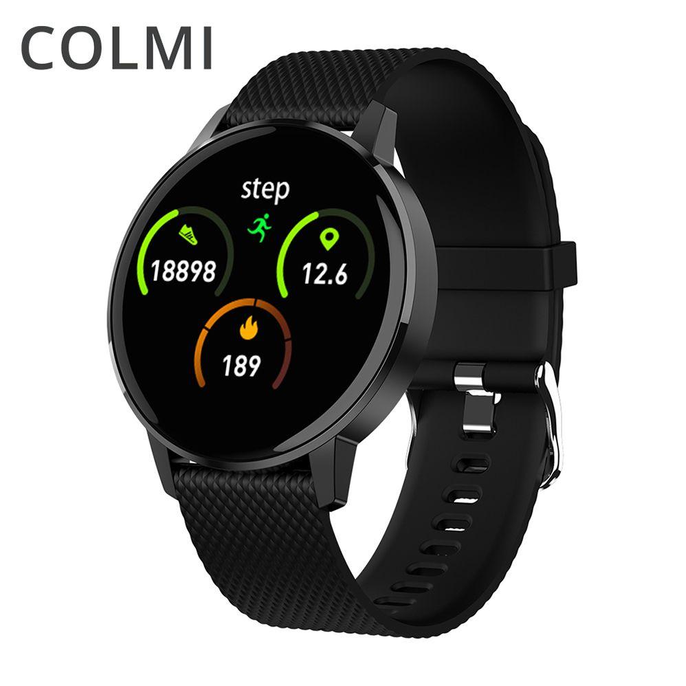 COLMI montre intelligente T4 Bracelet fréquence cardiaque tensiomètre rappel d'appel Fitness Tracker étanche montre intelligente Android IOS