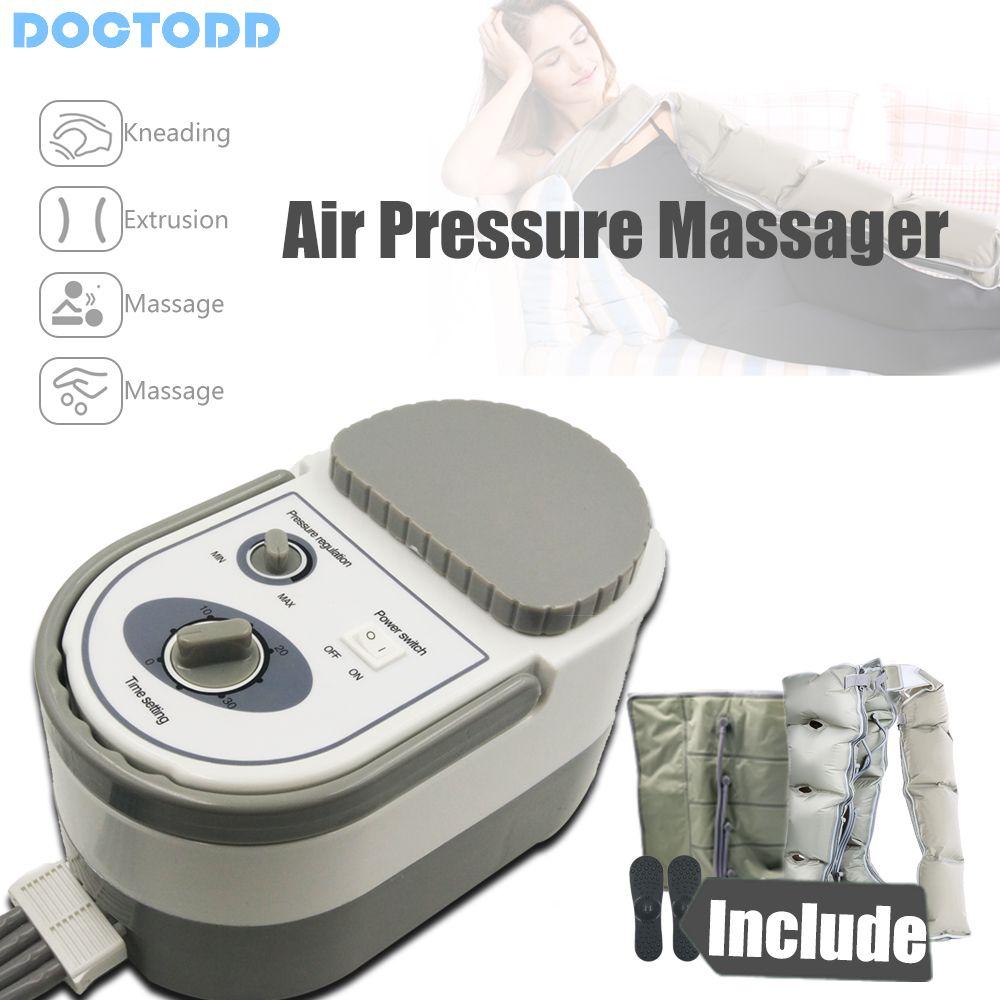 Machine de massage de pression d'air masseur de Muscle relâcher l'œdème varicosité myophagisme corps minceur réhabilitation livraison gratuite