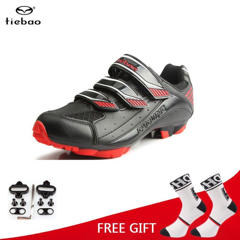 Tiebao chaussures de vélo athlétique professionnel vtt chaussures de cyclisme hommes chaussures de vélo auto-bloquantes sapatilha ciclismo vtt