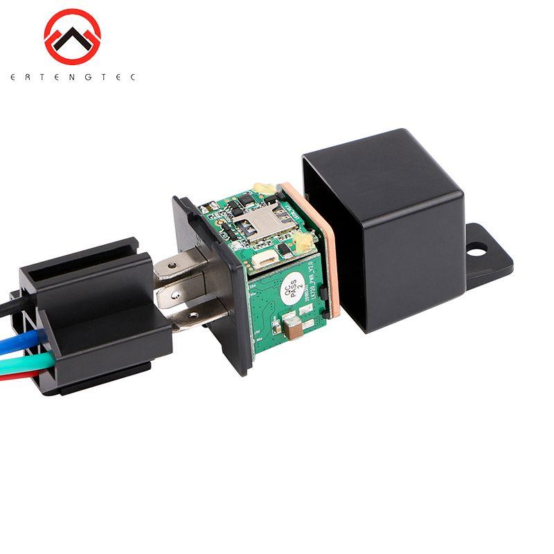 Relais de voiture GPS Tracker alarme de choc de voiture GPS GSM localisateur dispositif de suivi télécommande surveillance antivol coupure de l'alimentation en huile