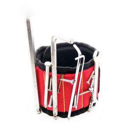 Прочный магнитный браслет Карманный держатель для инструментов для поддержки запястья сумка для браслетов сумка для шуруповерты держател...