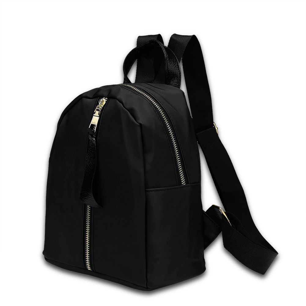 High Quality Backpack School Bags For Teenagers Casual Black Trave Backpack Women