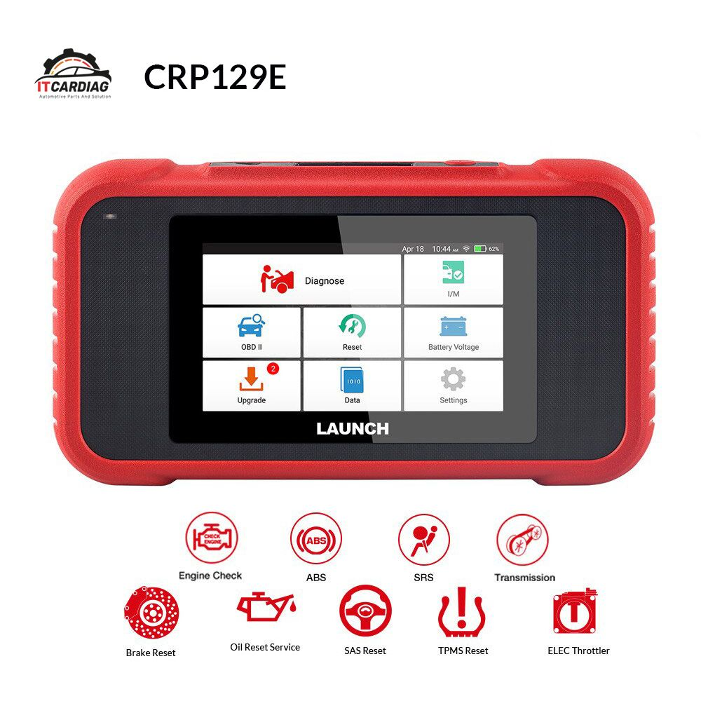 Starten X431 CRP129E CRP123E CRP129 CRP123 Creader VIII OBD2 diagnose werkzeug für ENG/AT/ABS/SRS Multi -sprache freies update