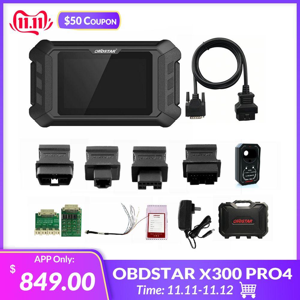 Neue Ankunft OBDSTAR X300 Pro4 Pro 4 PAD IMMO System Schlüssel Programmierer