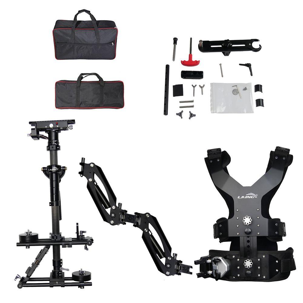 LAING M30PX 15kg gewicht tragen carbon fiber Video camcorder Steadicam stabilisator Steadycam fotografie Weste Dual Unterstützung Arm