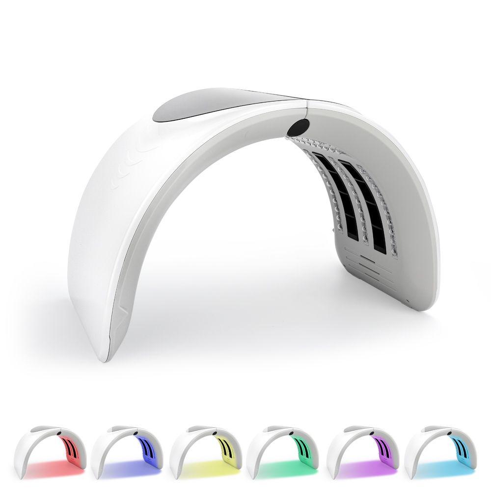 7 farben PDT Led Lichttherapie LED Maske Haut Verjüngung Photon Gerät Spa Akne Remover Anti-Falten Rote Led licht Behandlung