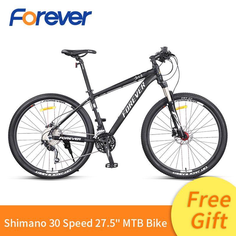 Für immer Männer Berg Racing Bike Licht Spezielle Aluminium Legierung Rahmen Fahrrad Hydraulische Scheiben Bremse Zyklus MTB 30 Speed Bike 27.5in