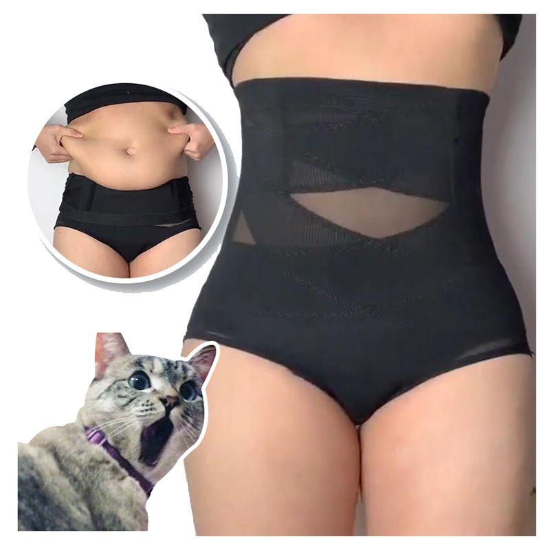 Femmes taille haute formateur corps Shaper culottes ventre ventre contrôle corps minceur contrôle ceinture amincissante sous-vêtements taille formateur