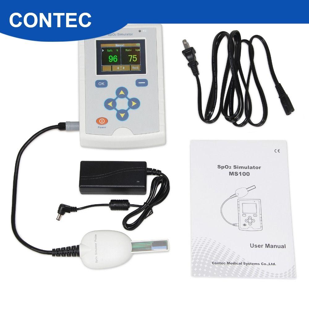CONTEC MS100 SpO2 Simulator, Pulsoximeter Genauigkeit Sauerstoff Sättigung Simulation
