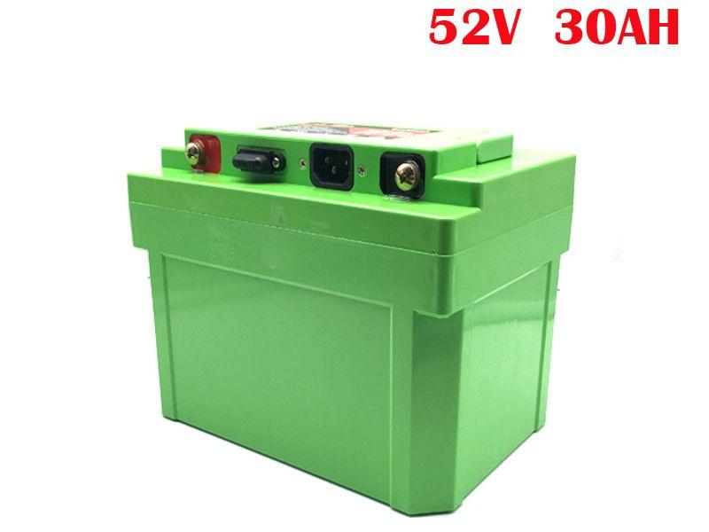Keine steuern 48V 52V 30 Ah Li-Ion elektrische fahrrad batterie 48 volt 1000W lithium-batterie pack 48V 30Ah für elektrische fahrrad