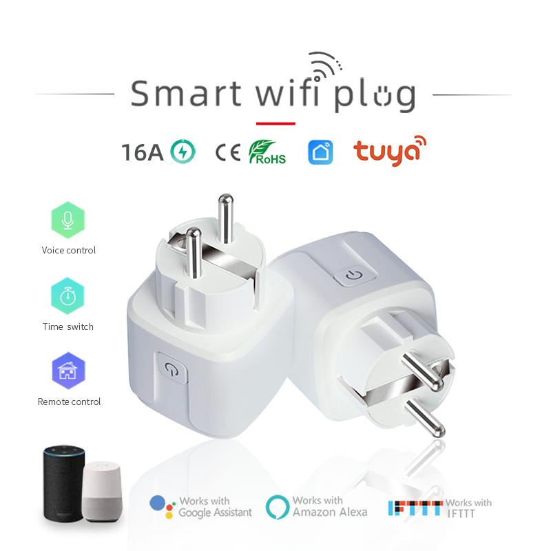 KMAX prise intelligente WiFi sans fil télécommande prise adaptateur alimentation et arrêt avec APP alexa intelligent bricolage gratuit