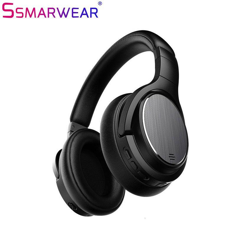 Aktive Noise Cancelling Kopfhörer Bluetooth 4,1 Drahtlose Kopfhörer Mit Apt-X Niedrigen Latenz Faltbare ANC Headset Für PC TV telefon