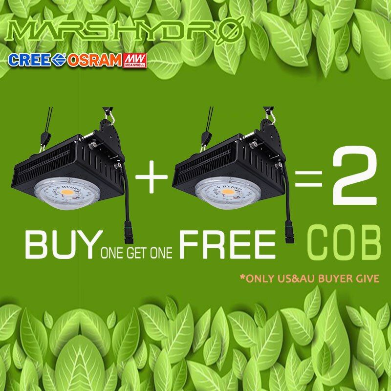 MarsHydro COB Led Wachsen Licht gesamte spektrum 300W Cree LEDs CXB3590 für Innen Gewächshaus Wachsen Zelt wachsen led-leuchten pflanzen