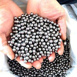60/100pcs 6mm 7mm 8mm 9mm Steel Balls Slingshot Hunting High-carbon Steel Slingshot Balls Catapult Slingshot Hitting Ammo Steel