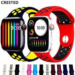 Sport Strap For Apple Watch band 44mm/40mm apple watch 5 4 3 band iwatch band 5 42mm/38mm correa bracelet belt watch Accessories