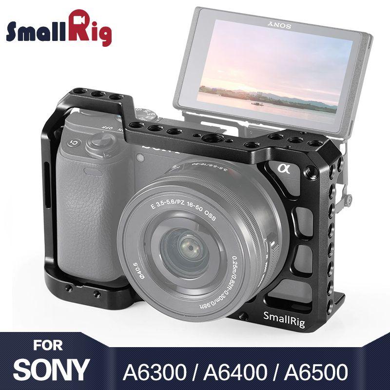 SmallRig A6400 Kamera Käfig für Sony Alpha A6300/A6400/A6500/A6100 Kamera w/1/4 3/8 Gewinde löcher für Vlog DIY Option 2310