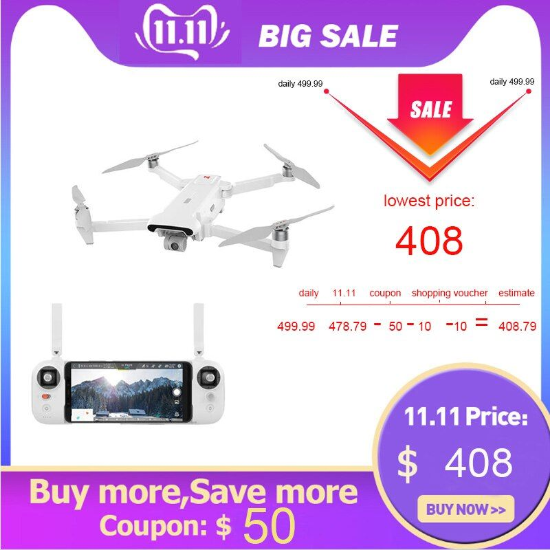 In lager FIMI X8SE drone 4K 5KM kamera drone zubehör kit 3 achsen Faltbare volle drone set RTF mit fernbedienung batterie