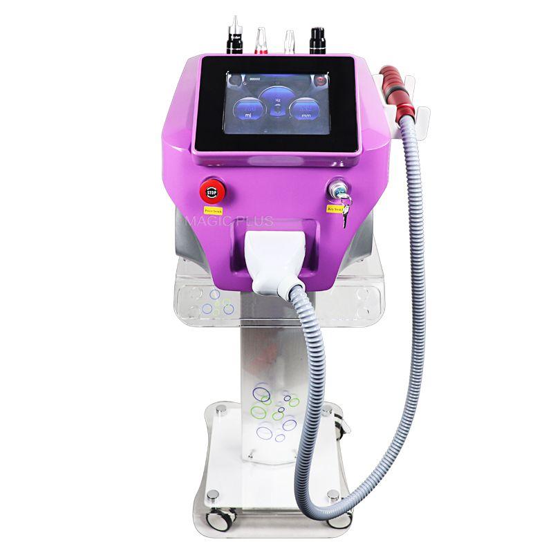 Tragbare Nd Yag Laser Picosure Pikosekunden Laser Mit Carbon Haut Bleaching Tattoo Entfernung Maschine Kostenloser Versand