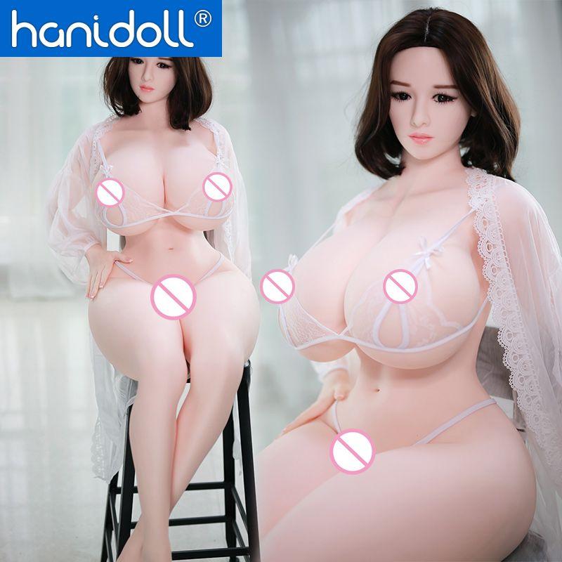 Hanidoll Silikon Sex Puppen 159cm Liebe Puppe Männlichen Echt TPE Sex Puppe Realistische Lebensechte Leben Größe Erwachsene Big Ass titten Spielzeug für Männer