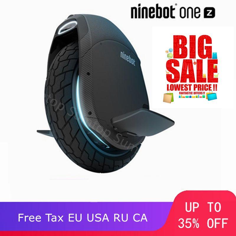 Original Ninebot Eine Z10 Z6 Selbst Balancing Elektro Roller 45 km/h Unterstützung Bluetooth APP Faltbare Einrad Motor Hoverboard EUC
