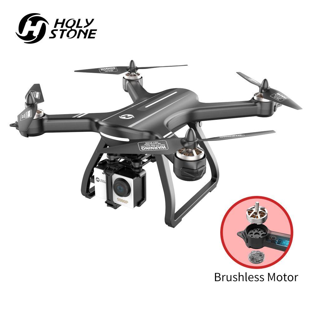 Heiligen Stein HS700 Drone Bürstenlosen GPS 5G mit 1080P Kamera Volle HD FPV 1000m Palette 2800mAh motor RC Hubschrauber Quadcopter GPS