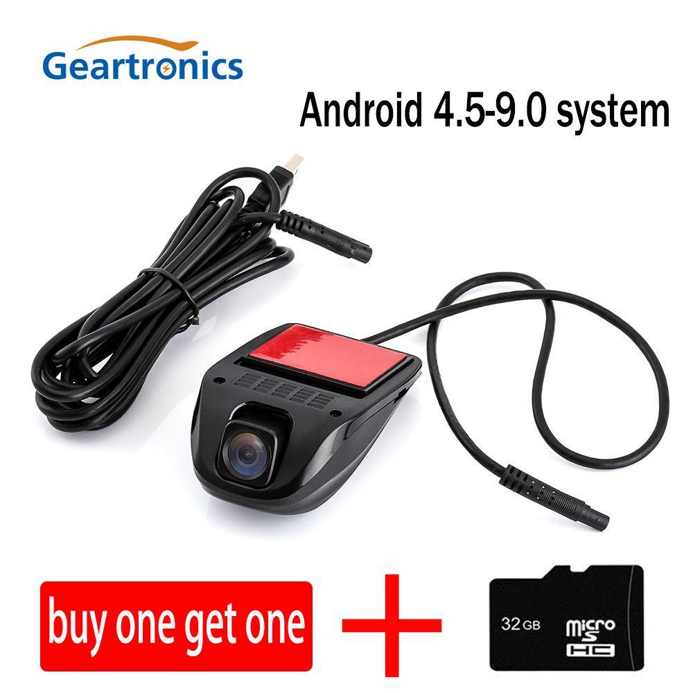 Caméra de tableau de bord DVR de voiture dvr caméra de tableau de bord USB Mini voiture Portable DVR HD Vision nocturne enregistreur de caméra de tableau de bord pour système Android