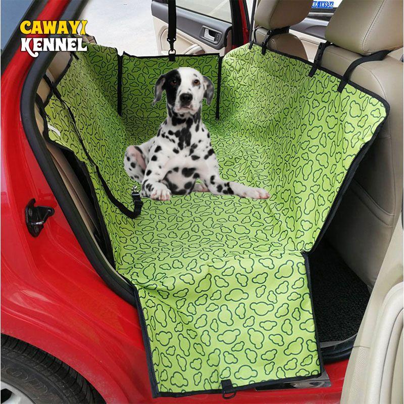 CAWAYI chenil voyage chien couverture de siège de voiture transporteurs pour animaux couverture tapis hamac protecteur portant pour chats chiens transportin perro