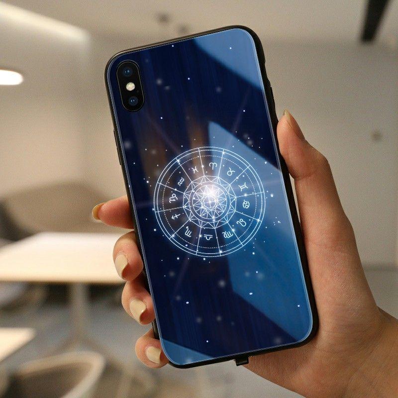 Étui étoile étui pour iphone huawei étui LED livraison directe