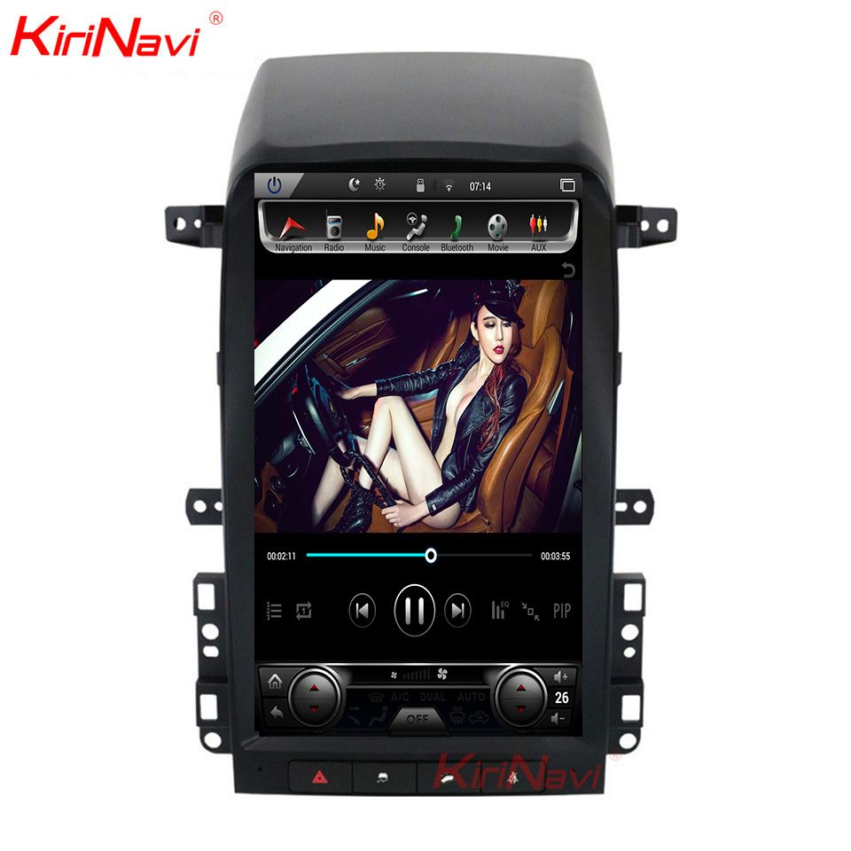 KiriNavi 13,6 ''Android 6.0 Auto Multimedia-Player Für Chevrolet Captiva 1 Din Android Auto Radio GPS Navigation 2008-2012 WIFI 4G