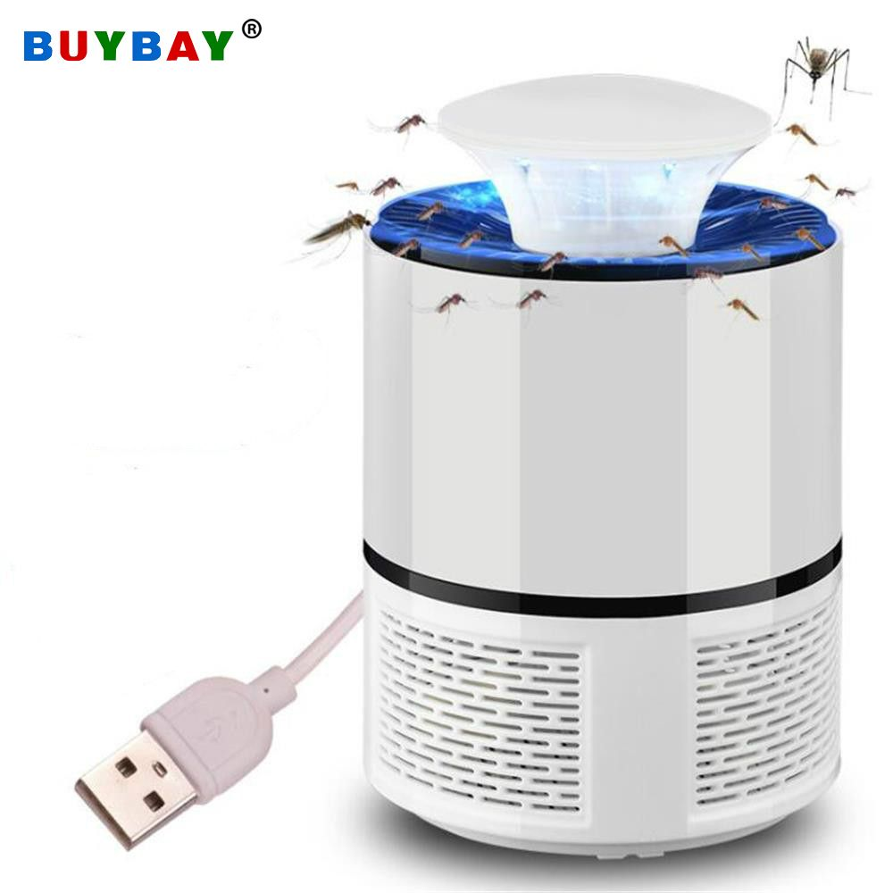 USB Electric Mosquito Killer Lamp LED UV Night Light Anti Fly Mosquito Zapper Muggen Killer Insect Trap