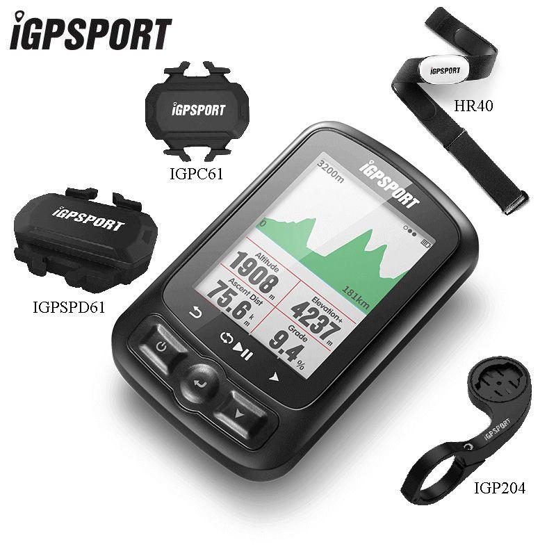 IGPSPORT ANT + GPS Fahrrad Computer IGS618E Bluetooth Tacho Drahtlose Wasserdichte Fahrrad Digitale Stoppuhr Radfahren Zubehör