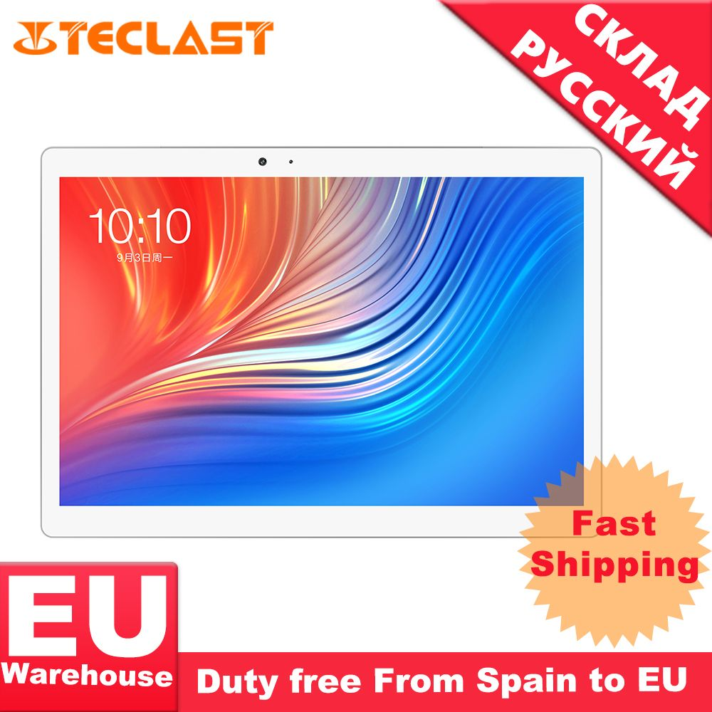 Teclast T20 Helio X27 Deca Core 4GB RAM 64G Dual 4G SIM Android 7.0 OS 10,1 Zoll Tablet