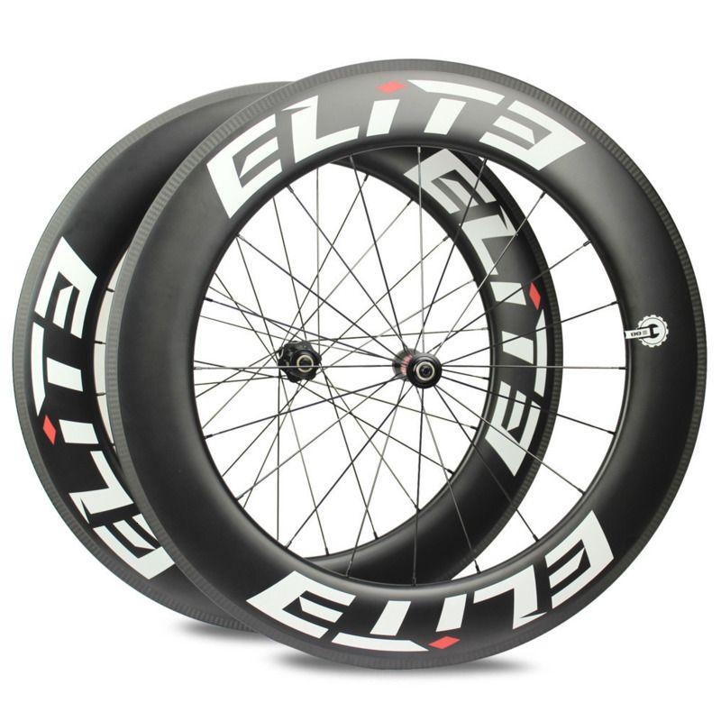 Elite DT 350S 700c Carbon Räder 20-24H Rennrad Rad 25mm 27mm Breite Rohr klammer Tubeless Carbon Faser Fahrrad Laufradsatz