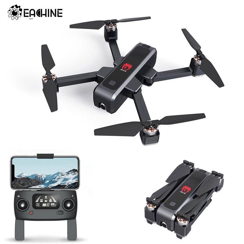 Eachine EX3 GPS 5G WiFi FPV mit 2K Kamera Optischen Fluss OLED Umschaltbar Fernbedienung Bürstenlosen Faltbare RC Drone quadcopter RTF