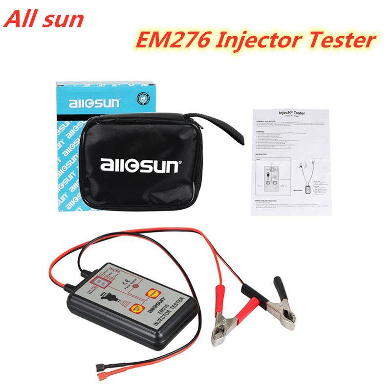ALL SUN EM276 testeur d'injecteur professionnel injecteur de carburant 4 Modes de Pluse testeur puissant outil de balayage du système de carburant EM276