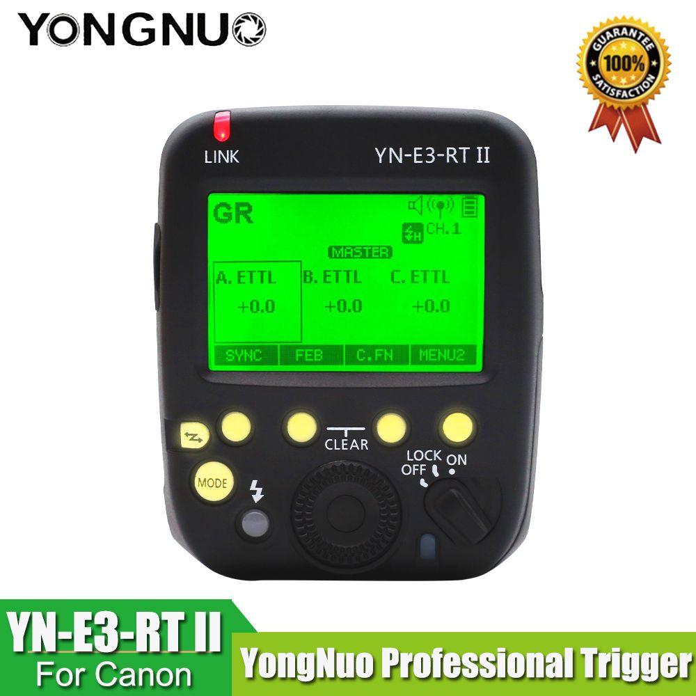 Transmetteur Speedlite à déclenchement Radio YONGNUO R3RT YN-E3-RT II TTL comme ST-E3-RT pour Canon 600EX-RT, YN600EX-RT YONGNUO