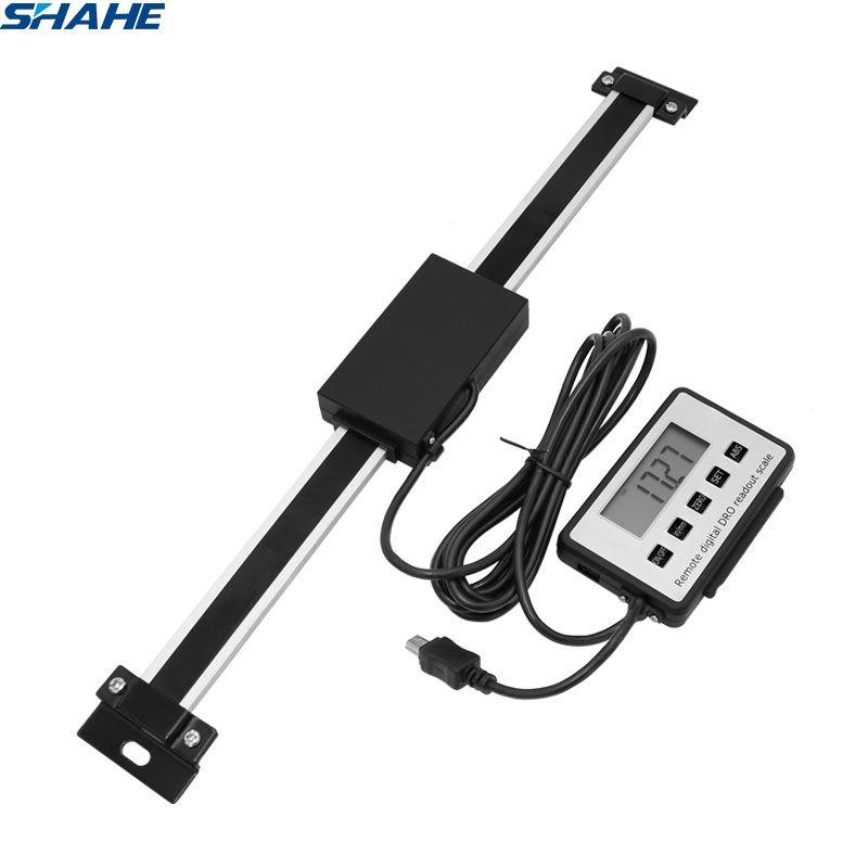 Shahe 0-150mm/0-200mm/0-300mm 0.01mm DRO magnétique à distance numérique lecture numérique échelle linéaire numérique affichage externe