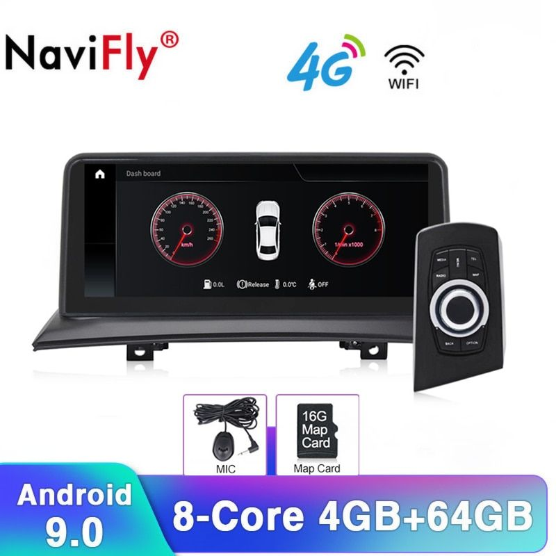 10,25 ''Android9.0 Acht core IPS auto Audio radio RDS kassette für BMW X3 E83 2004-2010 Auto Multimedia wifi 4G LTE