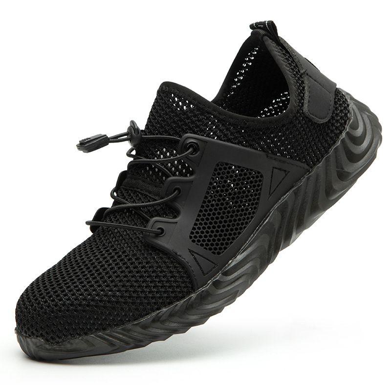2019 champion des ventes livraison directe hommes et femmes en acier embout de sécurité bottes indestructibles Ryder chaussures chaussures de travail à l'épreuve de l'aiguille