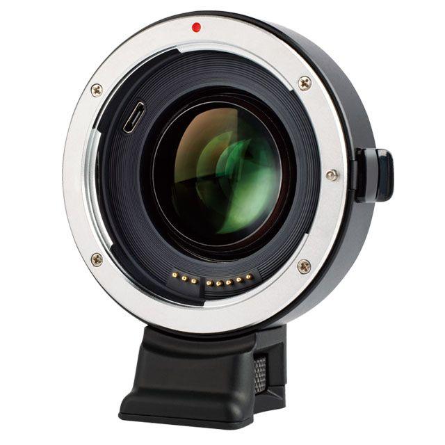 Viltrox EF-E II Autofokus Reducer Speed Booster Objektiv Adapter für Canon EF Objektiv Sony NEX E A9 A7 a7R/II/III A7SII A6500 NEX7