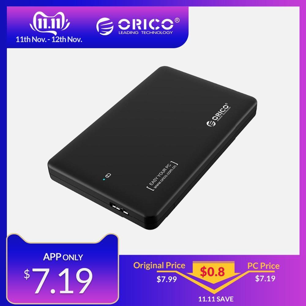 ORICO 2.5 pouces boîtier de disque dur sata vers usb 3.0 boîtier de disque dur adaptateur SSD pour Samsung Seagate SSD boîtier de disque dur boîtier externe