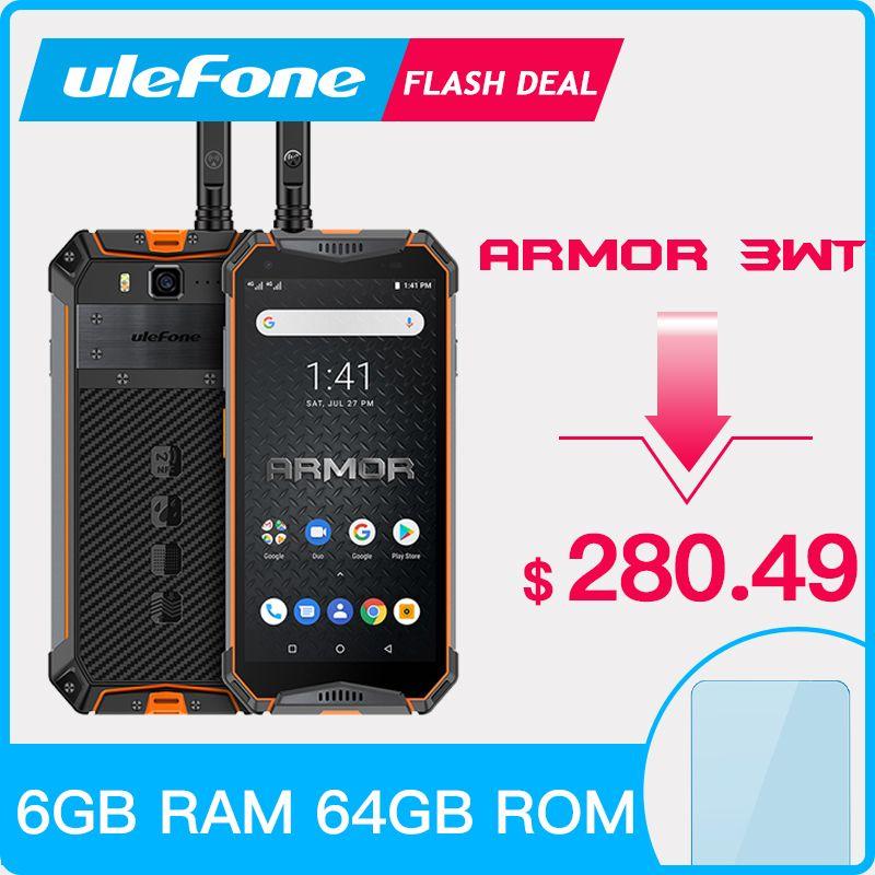 Ulefone Rüstung 3WT IP68 Robuste Smartphone Android 9.0 5,7