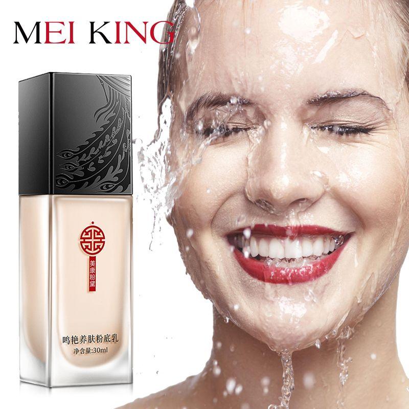 MEIKING fond de teint visage BB crème fond de teint liquide fond de teint éclaircissant hydratant naturel huile-contrôle acné studios