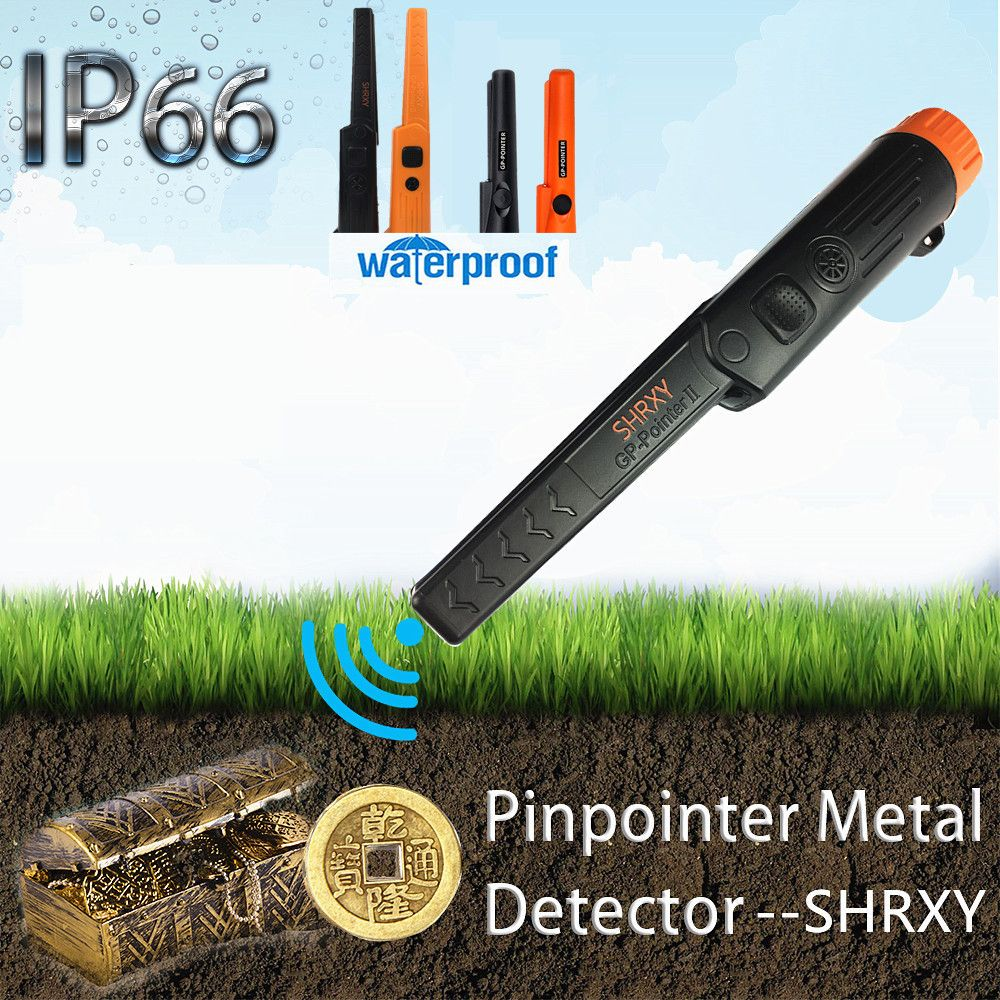 upgrade Sensitive Metal Detector Pro Pinpoint GP-pointer Waterproof Pinpointing Gold Digger Garden Detecting