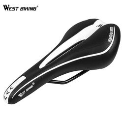 WEST BIKING Mountain Bike Saddle Bicycle Cycling Seat Silicone Skidproof Road MTB Saddle Seat Silica Gel Cushion Bicycle Saddle
