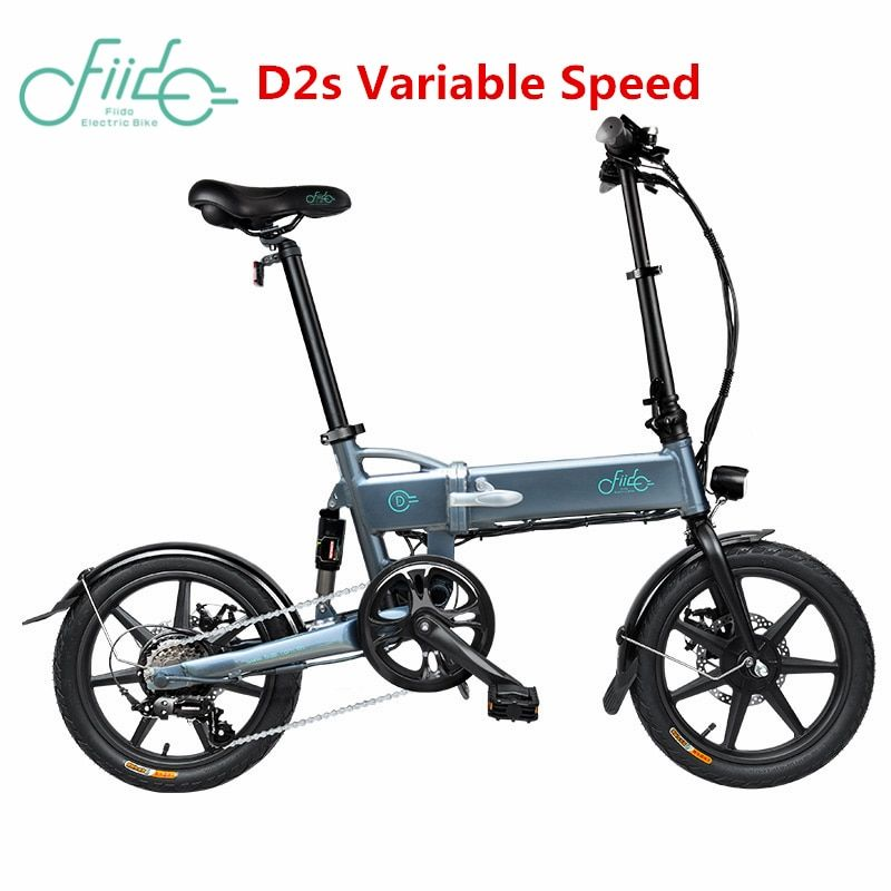 FIIDO D2 D1 D2s D3 D3s 16 zoll 7.8Ah Klapp Elektrische Fahrrad Aluminium Legierung Dual Disc Bremse Tragbare Elektrische Fahrrad EU Lager