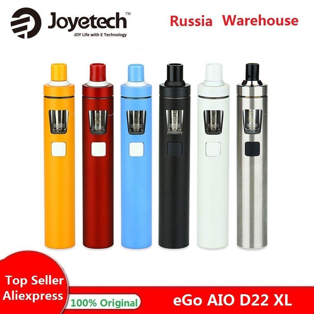 Joyetech eGo AIO D22 XL Kit Vape 2300mah batterie 4ml réservoir tout-en-un stylo Vape E Kit cigarette Vs Ijust s Kit/ego aio