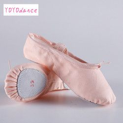 Women's Summer Ballet Slippers Ballet Shoes for Woman Danseuse Canvans Professional Ballet Dancers for Girls