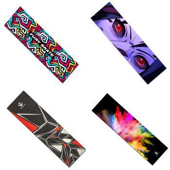 Skateboard Electric Scooter Griptape Stickers Non-Slip Skate Board Rough Sandpaper 84*23cm Fish Board Longboard Grip Tape Paster